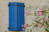 Window Of Manosque Home In Provence Fine Art Print