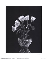 Dramatic Roses Fine Art Print