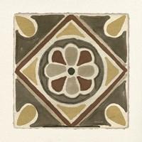 Moroccan Tile Pattern VII Framed Print