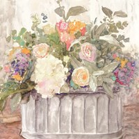 Table Bouquet I Framed Print