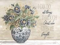 I Can Do All Things Through Christ Fine Art Print