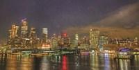 City Lights Fine Art Print