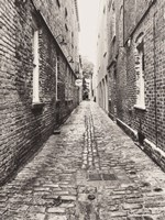 Narrow Alley Fine Art Print