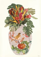 Tropical Vase I Fine Art Print