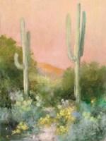 Sunrise Desert I Fine Art Print