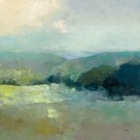 Misty Valley Fine Art Print