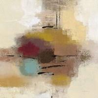 Morello Cherry Abstract I Framed Print