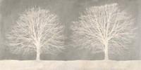 Trees on Grey Fine Art Print