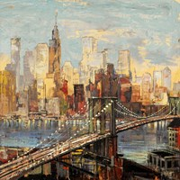 Sera su Manhattan Framed Print