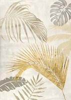 Palm Leaves Gold II Fine Art Print