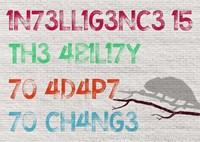 Intelligence Fine Art Print