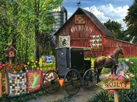 Amish Quilts Fine Art Print