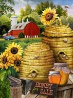 Bee Farm Fine Art Print