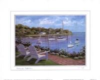 Harborside Reflections Fine Art Print