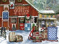 Holiday Quilts Fine Art Print