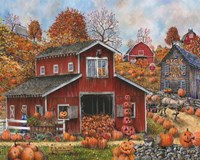 Pick Your Own Pumpkins Fine Art Print