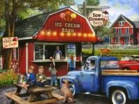 The Ice Cream Barn Fine Art Print