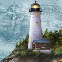 Lighthouse IV Fine Art Print