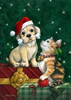 Christmas Buddies Fine Art Print