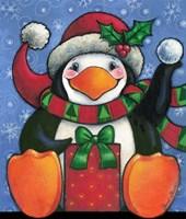 Happy Penguin Fine Art Print