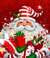 Magical Santa Fine Art Print