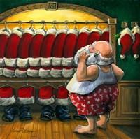 Santas Closet Fine Art Print