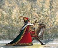 Winter Trek Fine Art Print