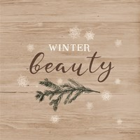 Winter Beauty I Framed Print