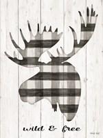 Wild & Free Framed Print