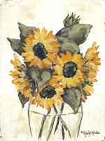 Harvest of Sunflowers Fine Art Print