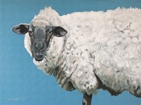 Wooly Sheep Fine Art Print