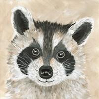 Roxie the Raccoon Fine Art Print