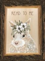 Read to Me Bunny Fine Art Print