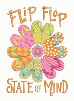Flip Flop State of Mind Fine Art Print