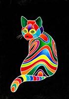 Carnival Cats 1 Fine Art Print