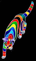 Carnival Cats 2 Fine Art Print