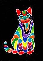 Carnival Cats 3 Fine Art Print