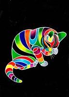Carnival Cats 4 Fine Art Print