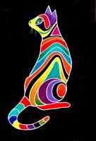 Carnival Cats 5 Fine Art Print