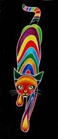 Carnival Cats 6 Fine Art Print