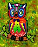 Carnival Owl II Fine Art Print