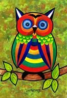 Carnival Owl Fine Art Print