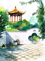 Chinese Garden Fine Art Print