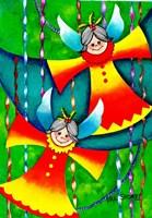 Christmas Angels Fine Art Print