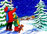 Christmas Star Fine Art Print