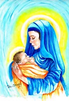 Mary and Child Fine Art Print