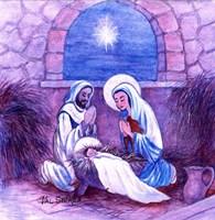 The First Christmas III Fine Art Print