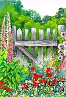 The Garden Gate Fine Art Print