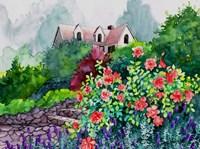 Up The Garden Path Fine Art Print