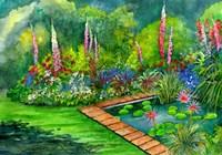 Waterlily Magic Fine Art Print
